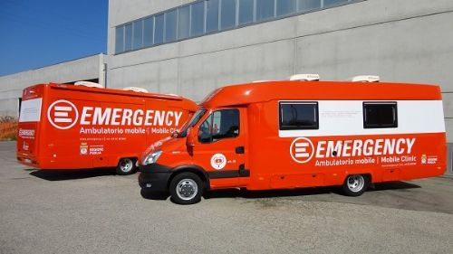 Emergency Ambulatorio Mobile Mini Van