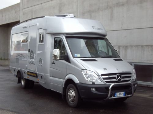 Royal System II 758 Handy Mercedes Sprinter 519 CDI